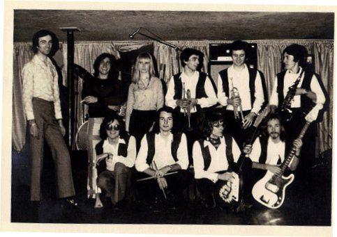 l'orchestre Tony FRANK dans les années 60