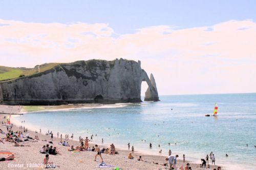 Les falaises d'Etretat (Normandie)