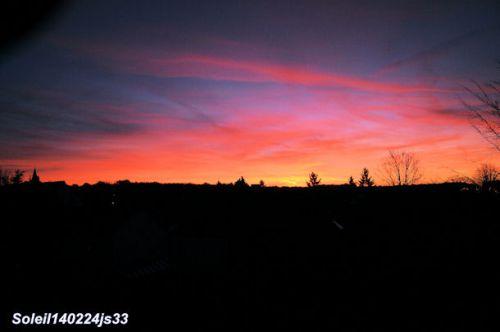 Lever de soleil 25/02/2014