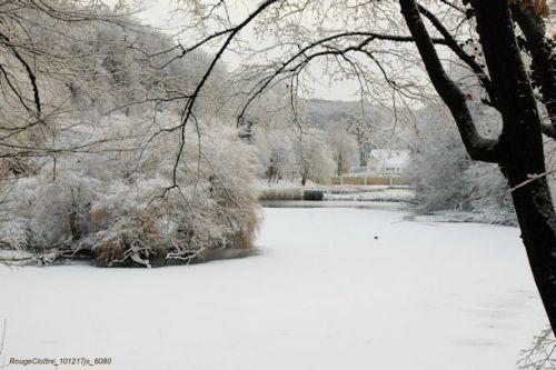 Paysage d'hiver (Rouge Cloître)