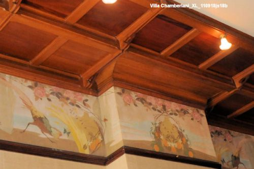 Villa Chamberlani Ixelles  :  Détail frise