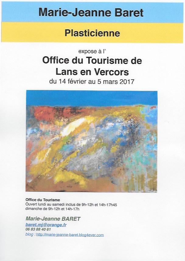Articles marie jeanne baret artiste peintre - Office de tourisme de lans en vercors ...