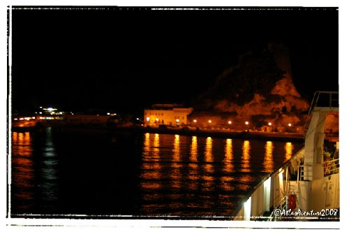 L'arrivée sur Lipari se fera de nuit