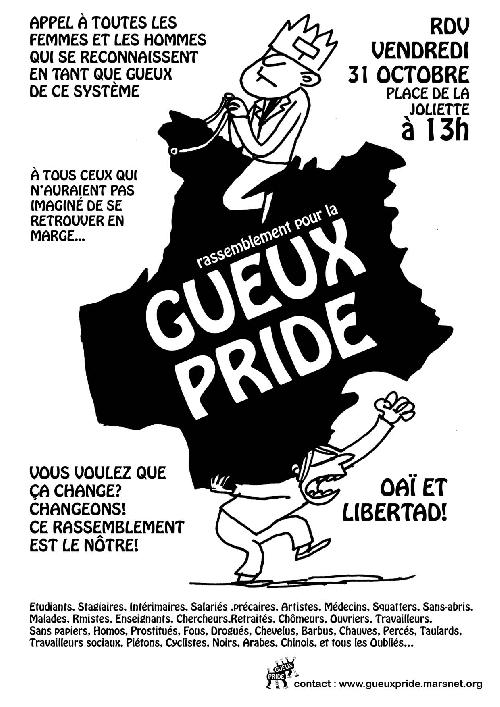 GUEUX PRIDE LE 31/10 148122081016013310