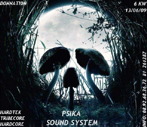 Free by PSIKA SOUND6TEM - le 13 Juin 148122090603013144