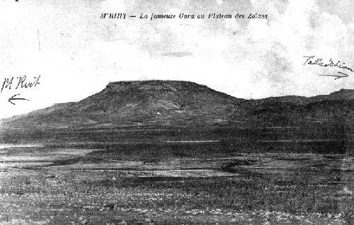 Mrirt-Le plateau Zaïane
