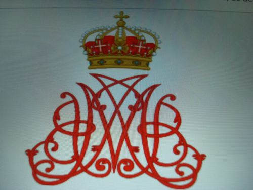 Monogramme de Marie Jeanne Baptiste de Savoie