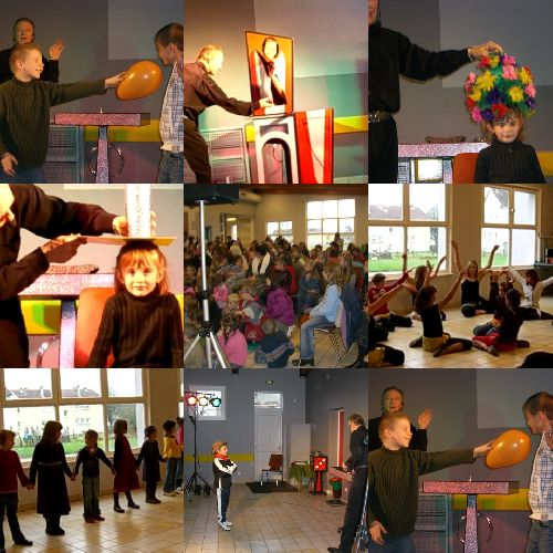 Magie et danse au Relais Social