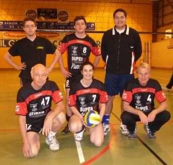 Une partie de l'équipe loisir 2009-2010