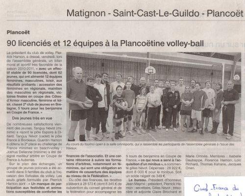 Ouest-France du 31.10.2011