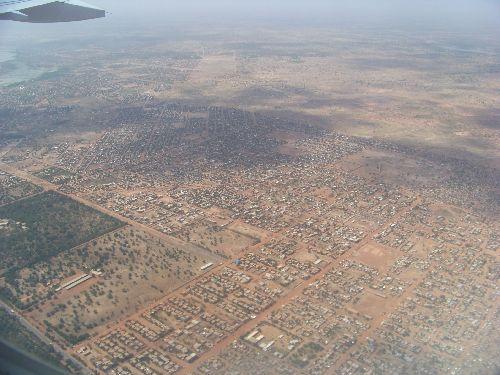 Ouagadougou vue du ciel