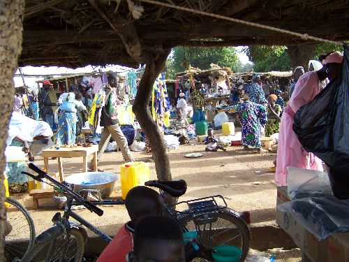 marché de Koubri