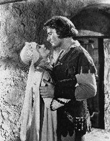 Errol Flynn et Olivia de Havilland dans Les aventures de Robin des Bois (1938) de Michael Curtiz