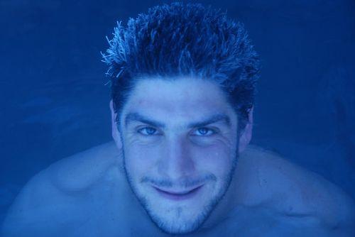Seb à la piscine