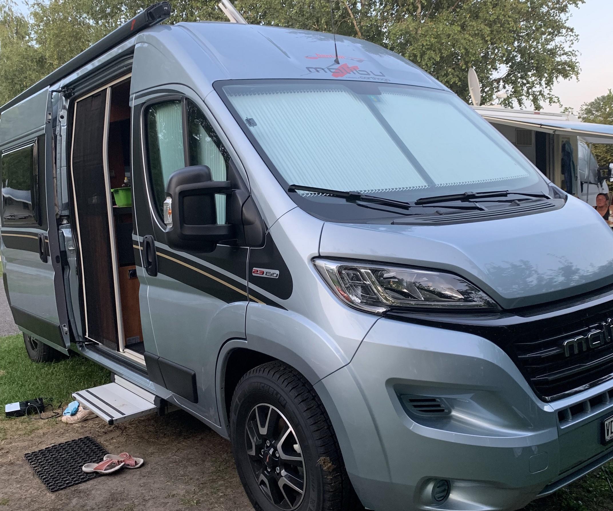 Voyages avec notre van malibu 2020