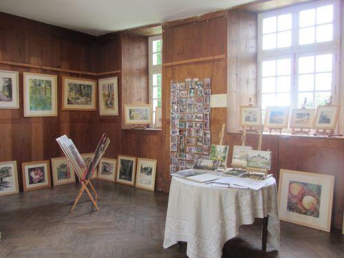 expo personnelle au chateau de Balleroy