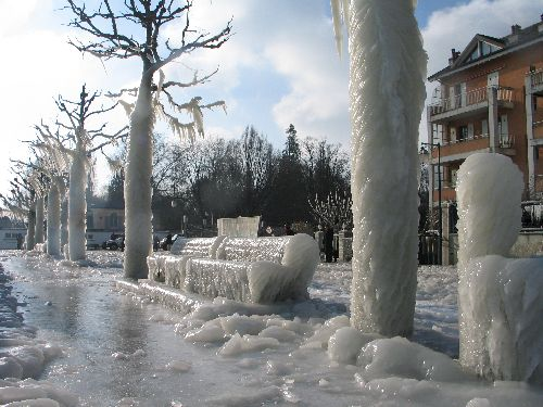 ère glaciaire à Versoix