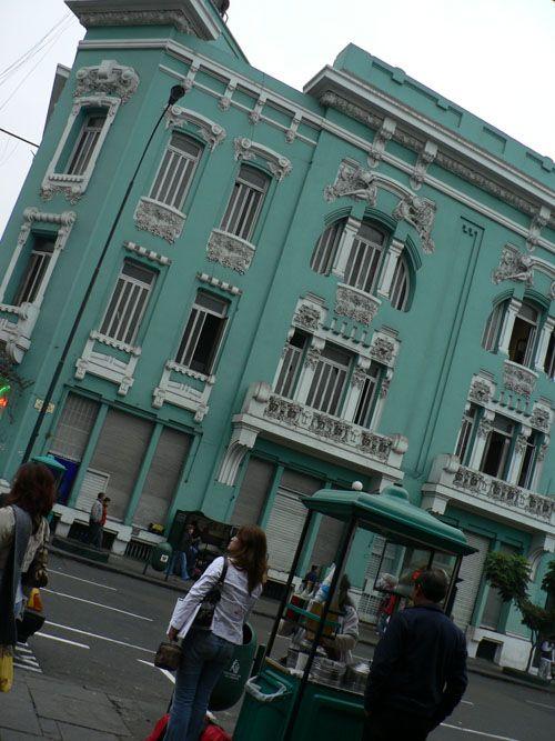 L´architecture coloniale de Lima est vraiment impressionante.