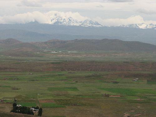 Altiplano proche de la frontiere