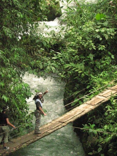 Mindo- Départ pour la cascade