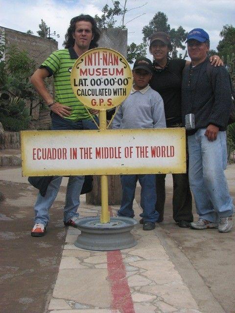 Sur la ligne de l\'équateur