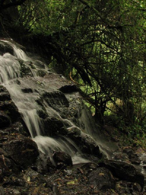 Los Chilos- Première petite cascade