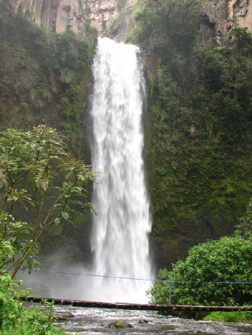 Los Chilos- La majestueuse cascade de \