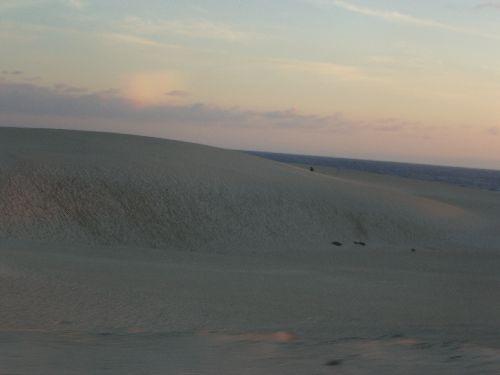 Les grandes dunes de sable de la cote Est