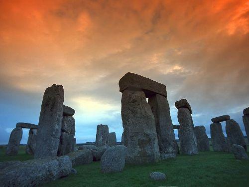 Stonehenge - quoi y'a là?