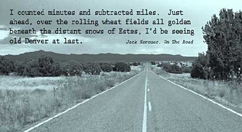 On the road again, encore et toujours.