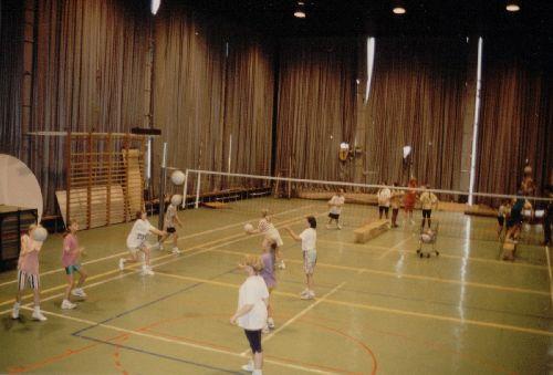 C'était au temps où la MJC était encore un peu une salle de sport !