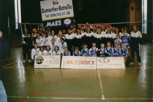 Photo de famille EVOCO (saison 1995-1996)