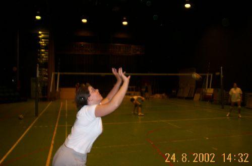 Stage Dames en Août 2002 à Comines
