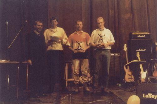 Durant la fête des 30 ans de l'EVOCO en 1998