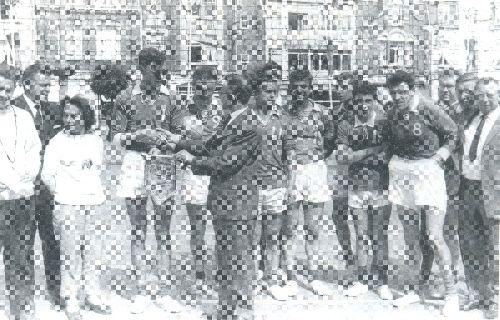 Tournoi sur la place Saint-ANNE 1962