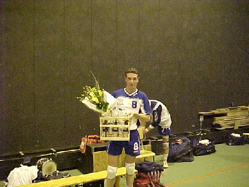 Damien Catteau fêté ! en mai 2003