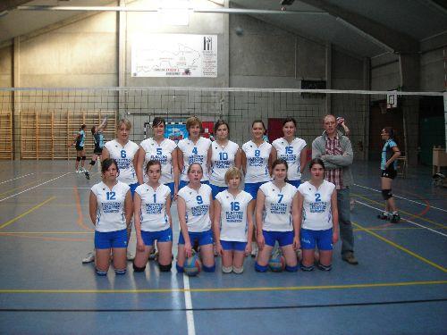 Saison 2007-2008 (4e provinciale Dames)