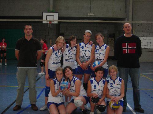 Cadettes filles 2007-2008