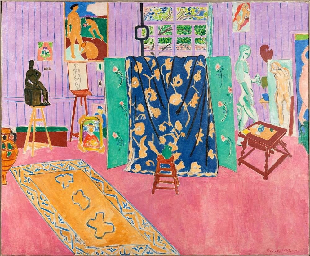 Henri Matisse L'Atelier du peintre icones-de-l-art-moderne-la-collection-chtchoukineM386465.jpg