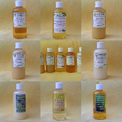 Shampooings, bains moussants & gels douche