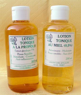 Lotions Miel / Propolis
