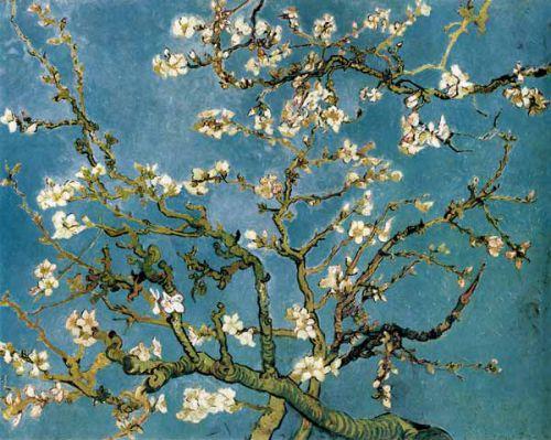 Arbres en floraison C.Monet