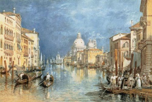 Le grand Canal à Venise de Turner