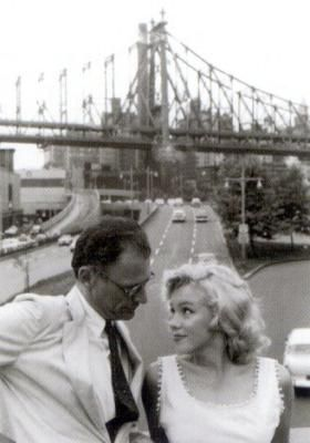 Avec Arthur Miller, son mari