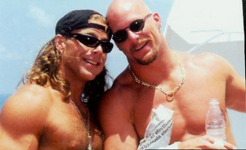 Stone Cold et Shawn Michaels