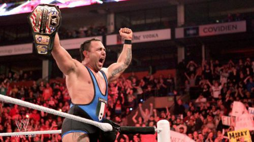 Santino Marella en tant que champion des Etats - Unis