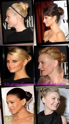 coiffure de stars