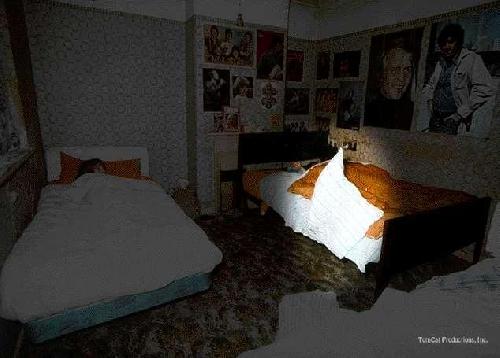 Poltergeist d'Einfield, début de manifestation du paranormal