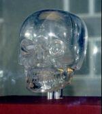 Le crâne de cristal du British Muséum de Londres