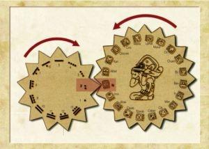 Calendrier Tzolkin des Mayas
